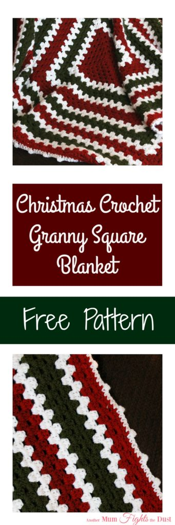 Easy Crochet Blanket – Free Pattern