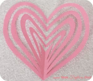 Valentine's Day Snowflake