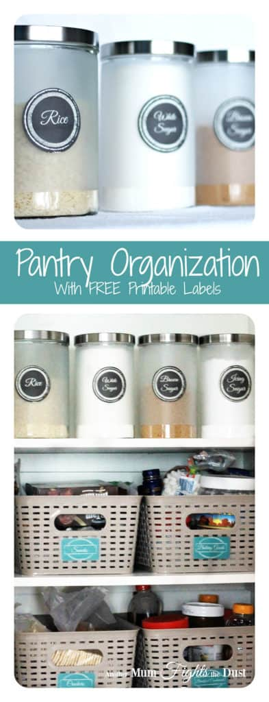 Pantry Organization Free Printables
