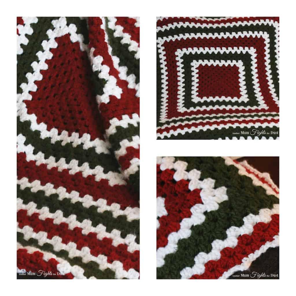 Crochet Granny Square Blanket Free Crochet Pattern