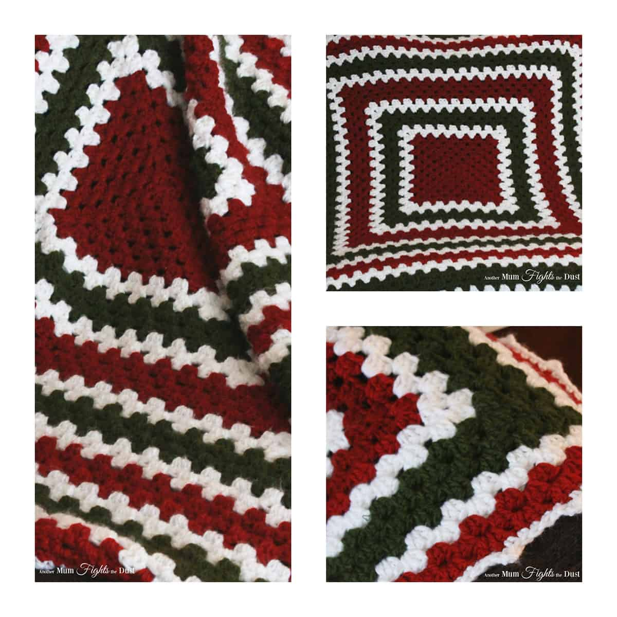 Christmas Crochet Blanket Free Pattern.Easy Crochet Blanket Free Pattern Another Mum Fights The