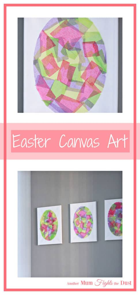 Easy Easter Egg Canvas Art