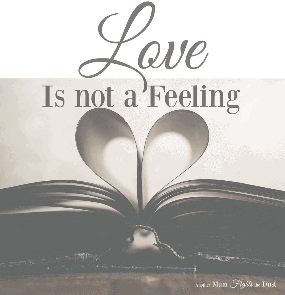Love is Not a Feeling