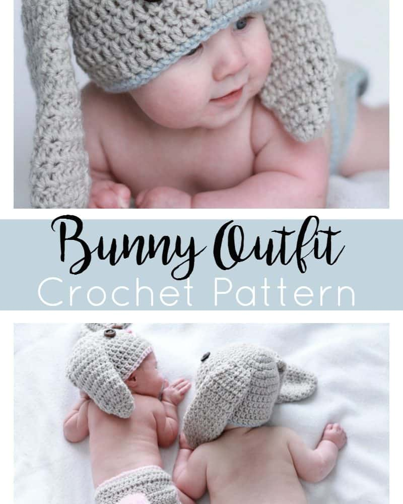 Crochet Bunny Outfit