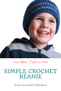 This free crochet pattern is for a simple striped beanie in infant, toddler, and child sizes up to age 10. Get the free crochet pattern here.