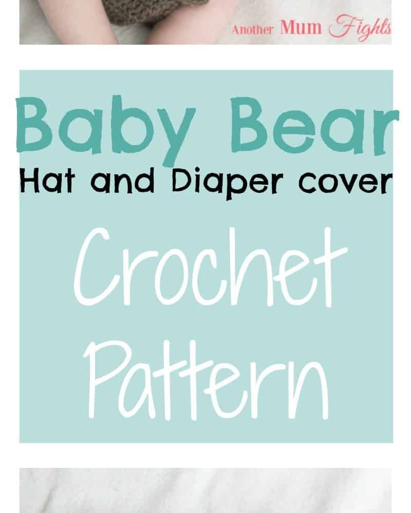 Crochet Baby Bear Outfit