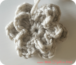 Free Crochet Flower Pattern.
