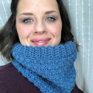 Crochet cowl. Winter Dreams Crochet Cowl is easy to workup, and will keep you warm and cozy all winter long.
