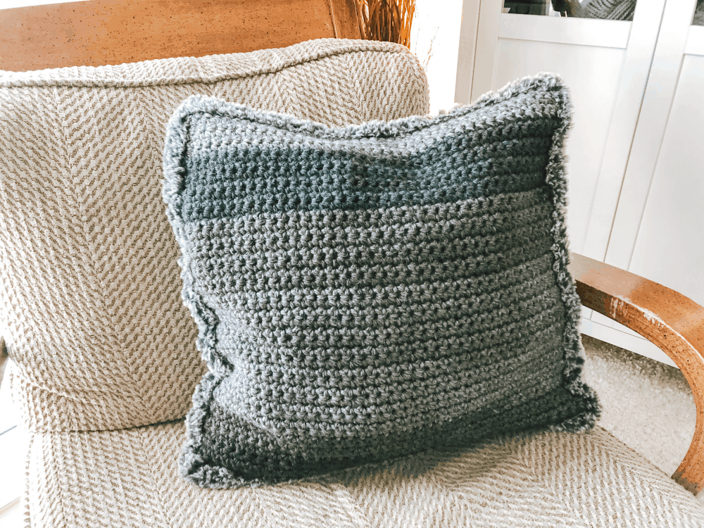 Crochet Pillow