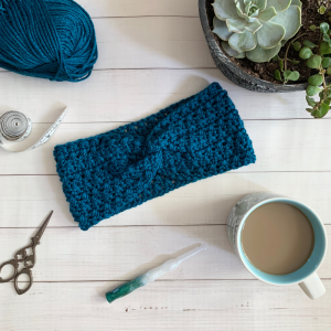 Grace Ear Warmer Flat Lay