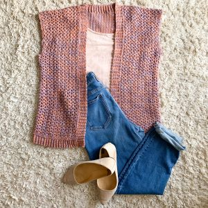 Outfit option for the Aliyah cardigan.
